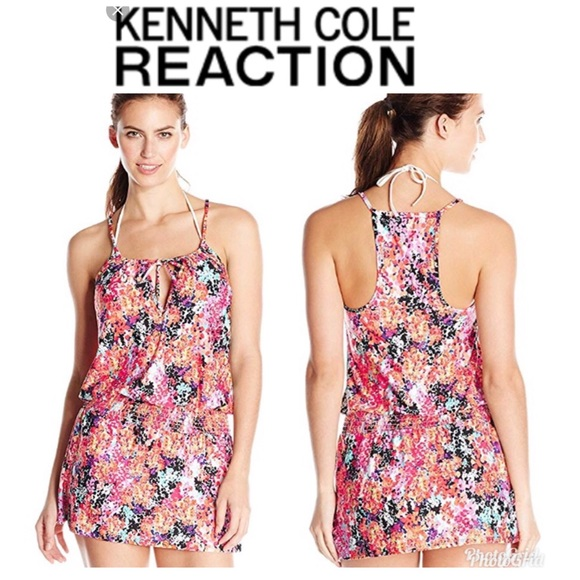 Kenneth Cole Reaction Other - NWT Kenneth Cole Darling Ditsy Waistband Coverup